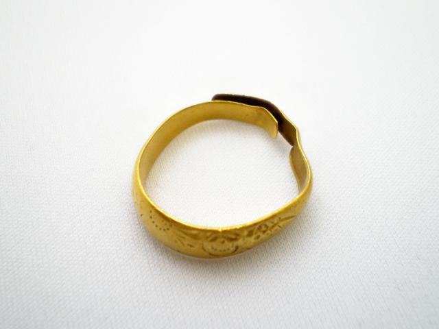 ノーブランド純金の指輪