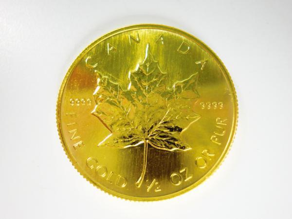 ノーブランドK24メイプルリーフ金貨