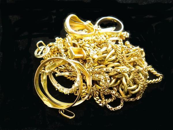 ノーブランドK18ネックレス・指輪